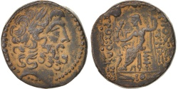 Ancient Coins - Syria (Kingdom of), Double unit, 66-46, Antioch, , Bronze