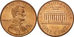 Us Coins - United States, Lincoln Cent, Cent, 2005, U.S. Mint, Philadelphia,