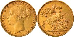 World Coins - Coin, Australia, Victoria, Sovereign, 1877, Melbourne, , Gold, KM:7