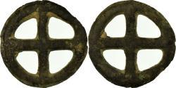 Ancient Coins - Coin, Celtic Rouelles, Rouelle, , Potin