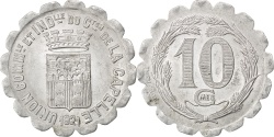 World Coins - France, 10 Centimes, 1921, , Aluminium, Elie #10.2, 1.49