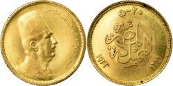 World Coins - Coin, Egypt, Fuad I, 20 Piastres, 1923, British Royal Mint, , Gold