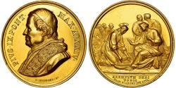 World Coins - Vatican, Medal, Pie IX, Jésus et Saint-Pierre, 1870, Bianchi, , Gold