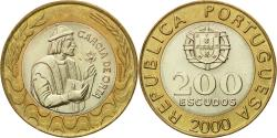 World Coins - Coin, Portugal, 200 Escudos, 2000, , Bi-Metallic, KM:655