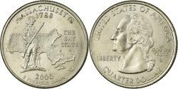 Us Coins - Coin, United States, Massachusetts, Quarter, 2000, U.S. Mint, Denver,