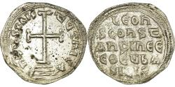 Ancient Coins - Coin, Leo IV and Constantine VI, Miliaresion, 776-780, Constantinople