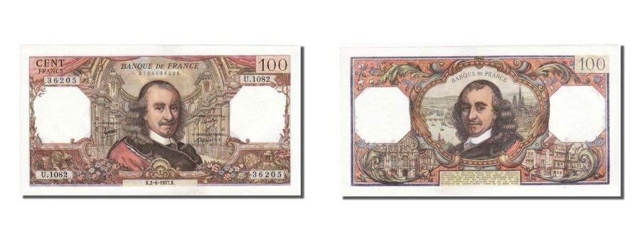 World Coins - France, 100 Francs, 100 F 1964-1979 ''Corneille'', 1977, KM #149f, 1977-06-02,..