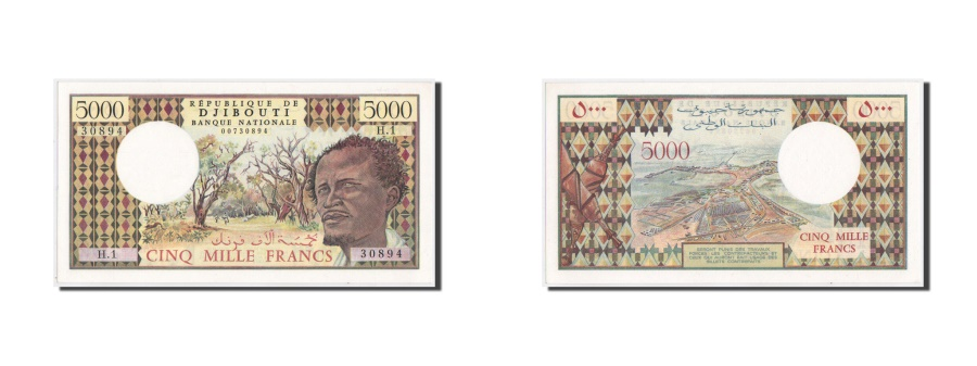 World Coins - Djibouti, 5000 Francs, 1979, KM:38a