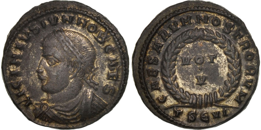 Ancient Coins - Licinius II, Follis, Thessalonica, , Bronze, RIC:119