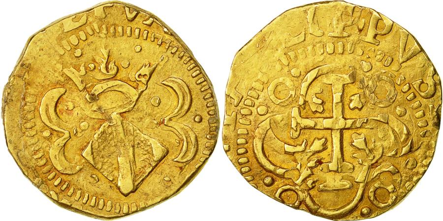World Coins - Coin, Spain, ARAGON, Philip II, 4 escudos, 4 Escudos, Valencia, , Gold