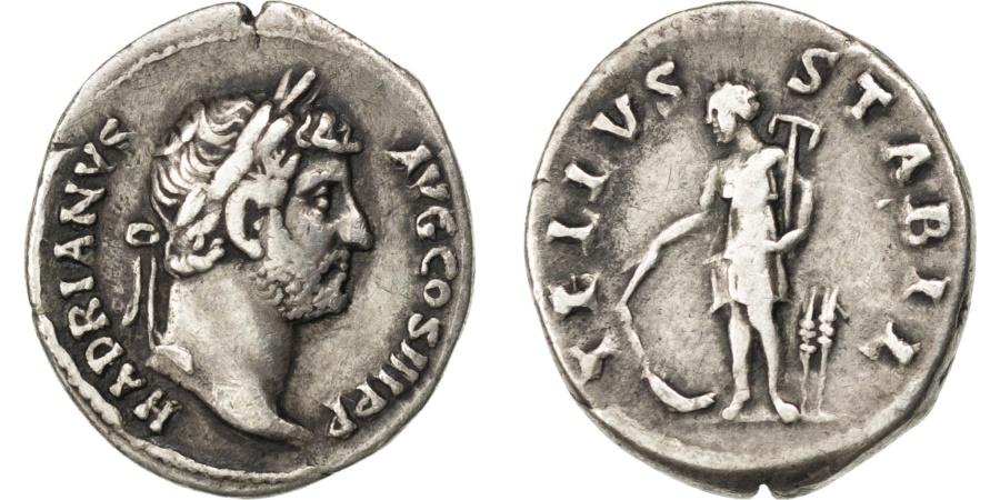 Ancient Coins - Hadrian, Denarius, , Silver, Cohen #1427, 3.30