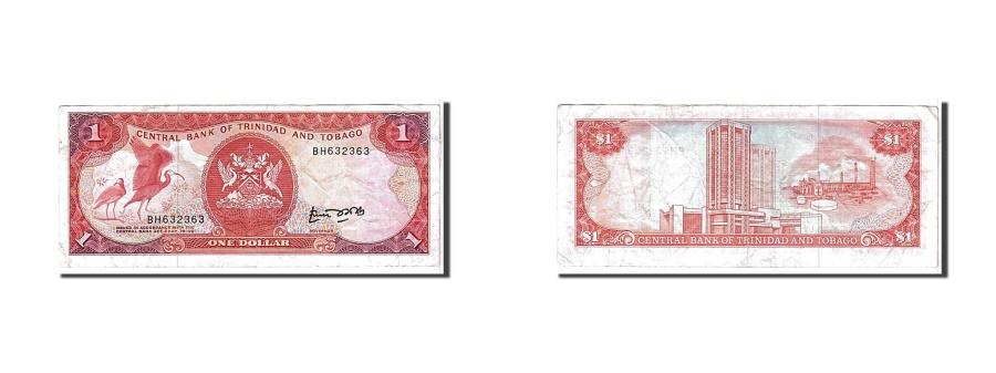 World Coins - Trinidad and Tobago, 1 Dollar, 1977, KM #30b, EF(40-45), BH632363