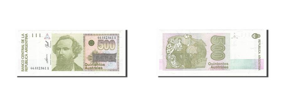 World Coins - Argentina, 500 Australes, 1990, KM #328b, UNC(63), 66442861A