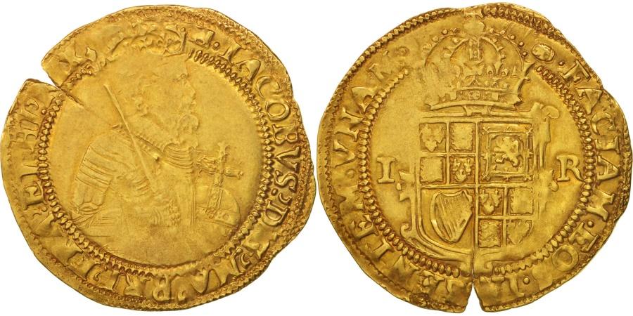 World Coins - Great Britain, James I, Unite, 1604, , Gold, KM:47