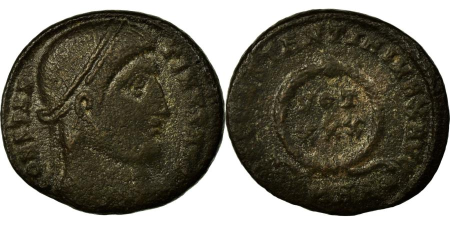 Ancient Coins - Coin, Constantine I, Nummus, Heraclea, EF(40-45), Copper, Cohen:132