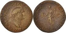 Ancient Coins - Vespasian, As, Roma, VF(20-25), Copper, RIC:878 var. As