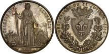 World Coins - FRANCE, Business & industry, Second French Empire, Medal, AU(55-58), Borrel,...