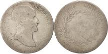 France, 5 Francs, 1804, Toulouse, VG(8-10), Silver, KM:659.10, Gadoury:577