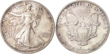 Us Coins - United States, Dollar, 1989, U.S. Mint, Philadelphia, MS(64), Silver, KM:273