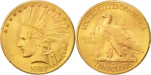 Us Coins - United States, Indian Head, $10, Eagle, 1932, U.S. Mint, Philadelphia
