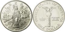 Us Coins - United States, Dollar, Congress Bicentennial, 1989, MS(65-70), Silver, KM:225