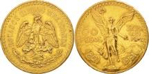 World Coins - Mexico, 50 Pesos, 1921, Mexico City, Gold, KM:481