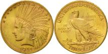 Us Coins - United States, Indian Head, $10, Eagle, 1911, Philadelphia, KM 130