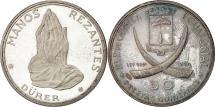 World Coins - Coin, Equatorial Guinea, 50 Pesetas, 1970, MS(63), Silver, KM:7