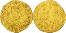 Theophilus, Solidus, Constantinople, EF(40-45), Gold, Sear:1653