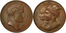 World Coins - France, Medal, Napoleon Ier , Rome Paris, 1809, Andrieu, MS(60-62), Bronze