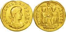 Ancient Coins - Gratian, Solidus, Trier, VF(20-25), Gold, RIC:17f