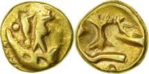 """Coin, Morini, 1/4 Stater """"au bateau"""", AU(50-53), Gold, Delestrée:249"""