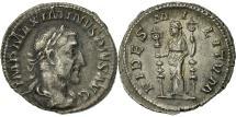 Ancient Coins - Maximinus I Thrax, Denarius, Rome, AU(50-53), Silver, RIC:7A