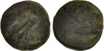 Sicily, Onkia, 425-406 BC, Agrigente, F(12-15), Bronze