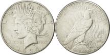 Us Coins - United States, Peace Dollar, 1923, San Francisco, AU(50-53), KM 150