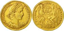 Ancient Coins - Constantius II, Solidus, Antioch, VF(30-35), Gold, RIC:81