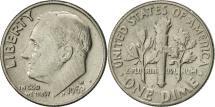 Us Coins - United States, Roosevelt Dime, Dime, 1968, U.S. Mint, Denver, AU(55-58)
