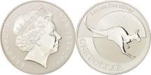 World Coins - Australia, Elizabeth II, Dollar, 2004, Royal Australian Mint, MS(65-70), Silver