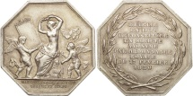 World Coins - France, Token, Industry, Manufacture de St Gobain, Chauny et Cirey, Business