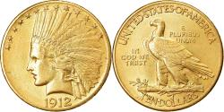 Us Coins - Coin, United States, Indian Head, $10, Eagle, 1912, Philadelphia,