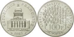 World Coins - Coin, France, Panthéon, 100 Francs, 1983, Paris, , Silver, KM:951.1