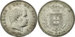 World Coins - Coin, Portugal, Carlos I, 500 Reis, 1899, , Silver, KM:535