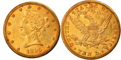 Us Coins - Coin, United States, Coronet Head, $10, Eagle, 1895, U.S. Mint, New Orleans