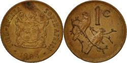 World Coins - Coin, South Africa, Cent, 1984, , Bronze, KM:82