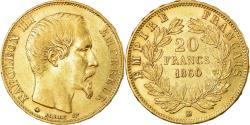 World Coins - Coin, France, Napoleon III, Napoléon III, 20 Francs, 1860, Strasbourg