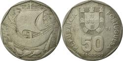 World Coins - Coin, Portugal, 50 Escudos, 1991, , Copper-nickel, KM:636