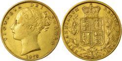 World Coins - Coin, Australia, Elizabeth II, Sovereign, 1873, Sydney, , Gold, KM:6