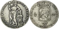 World Coins - Coin, Netherlands Antilles, 1/4 Gulden, 1794, Utrecht, , Silver