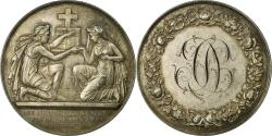 World Coins - France, Medal, Mariage, Religion, 1901, Petit, , Silver