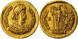 Coin, Honorius, Solidus, Ravenna, , Gold, RIC:1287